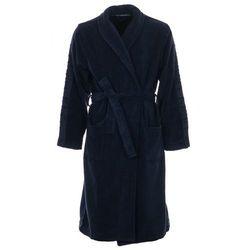 Calvin Klein męski szlafrok L-XL ciemny niebieski - BEZPŁATNY ODBIÓR: WROCŁAW!