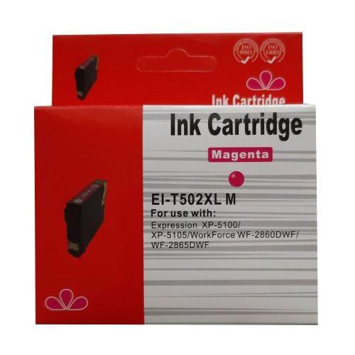 Tusze do drukarek, zastępczy atrament Epson 502XL [C13T02W34010] magenta