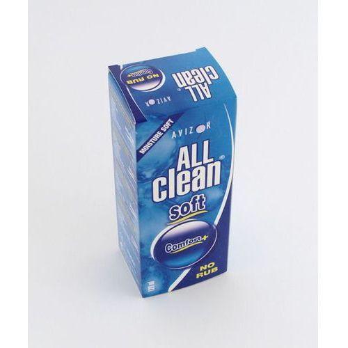 Płyny pielęgnacyjne do soczewek, Avizor All Clean Soft 120 ml