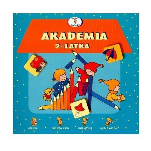Książki dla dzieci, Akademia 2-latka (opr. miękka)