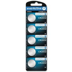 5x bateria litowa mini everActive CR2032