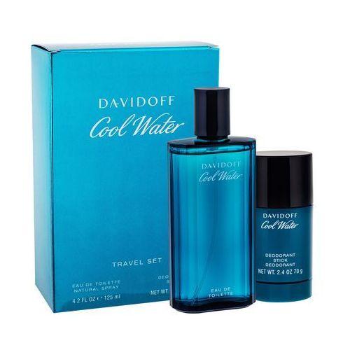 Zestawy zapachowe męskie, Davidoff Cool Water zestaw 125 ml dla mężczyzn
