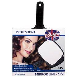 RONNEY Professional Mirror Line 192 - Profesjonalne lusterko z rączką 192 (RA 00192)