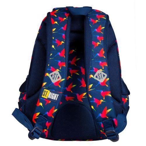 Tornistry i plecaki szkolne, ST.RIGHT Plecak szkolny 4 komory Rainbow Bird 2019