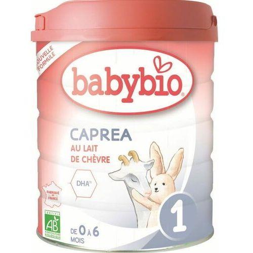 Mleka modyfikowane, Mleko kozie początkowe dla niemowląt od 0 do 6 miesięcy BIO 800 g BABYBIO