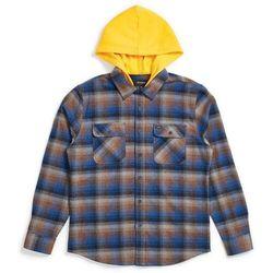 koszula BRIXTON - Bowery Hood L/S Flnl Navy/Gold (NVGLD) rozmiar: L