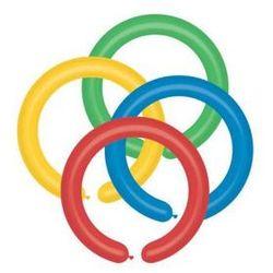 Balon do modelowania pastel mix kolorów