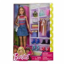 Lalka Barbie z Akcesoriami Garderoba FVJ42 Mattel
