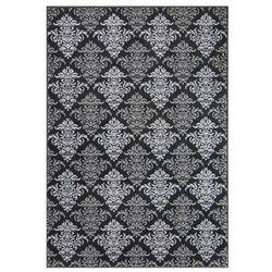 Dywan ALFA czarny 160 x 220 cm
