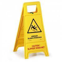 Oznakowanie informacyjne i ostrzegawcze, Stojak ostrzegawczy - Uwaga Śliska podłoga PL