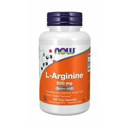NOW Foods L-Arginina 500 mg 250 kaps