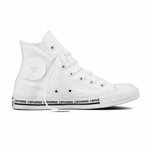 Obuwie sportowe dla mężczyzn, buty CONVERSE - Chuck Taylor All Star White/White/Black (WHITE-WHITE-BLACK) rozmiar: 46.5