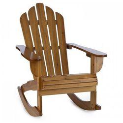 Blumfeldt Rushmore fotel bujany fotel ogrodowy w stylu Adirondack 71x95x105 cm brązowy