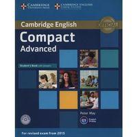 Książki medyczne, Compact Advanced. Podręcznik z Kluczem + CD (opr. miękka)