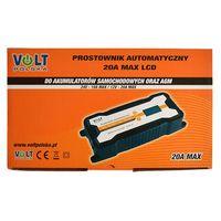 Prostowniki, Prostownik automatyczny VOLT 20A LCD 12V/24V