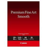 Papiery i folie do drukarek, Canon PAPIER FINE ART FA-SM1 A4 25