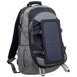 "SUNEN PowerNeed - Plecak 40 l z panelem solarnym 6.5 W na laptop 15,6"", czarny"