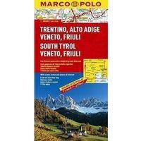 Mapy i atlasy turystyczne, Tyrol Południowy Wenecja Euganejska mapa 1:300 000 Marco Polo (opr. twarda)