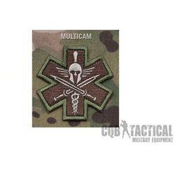 Naszywka Mil-Spec Monkey Tactical Medic - Spartan Multicam