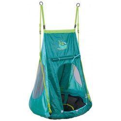Huśtawka bocianie gniazdo z namiotem Pirat- pełne siedzisko HUDORA 90 cm dla dzieci