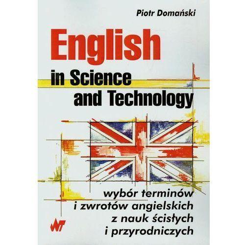Leksykony techniczne, English in Science and Technology (opr. miękka)