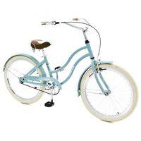 Pozostałe rowery, Rower INDIANA X-Cruiser JR Lazurowy + 5 lat gwarancji na ramę! + DARMOWY TRANSPORT!