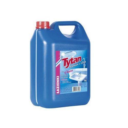 Płyny i żele do czyszczenia armatury, Płyn do mycia łazienki Tytan kamień i rdza ekstra 5kg