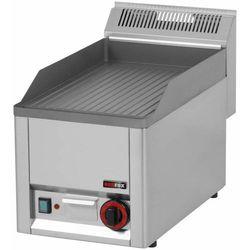 Płyta grillowa gazowa ryflowana | 320x480mm | 4000W | 330x600x(H)290mm
