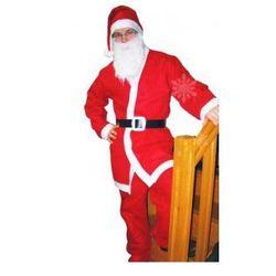 Strój dla dorosłych Mikołaj (czapka broda bluz