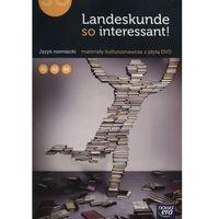 Książki do nauki języka, Landeskunde so Interessant! Język Niemiecki. Materiały Kulturoznawcze + DVD (opr. miękka)