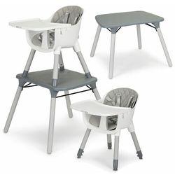 Fotelik, krzesełko do karmienia, stół i krzesło, 3 w 1