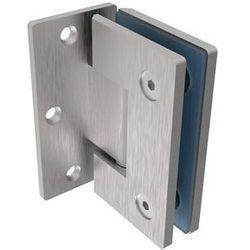 Zawias do drzwi szklanych +/- 90 stopni AISI304,
