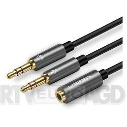 UGREEN AV140 rozdzielacz audio AUX (czarny)