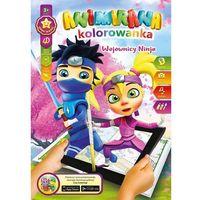 Kolorowanki, Kolorowanka A4/8 4D Ninja