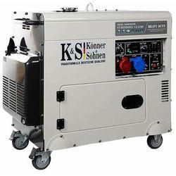 Agregat prądotwórczy KS 9200HDES -1/3 ATSR moc7.5 kW KÖNNER & SÖHNEN