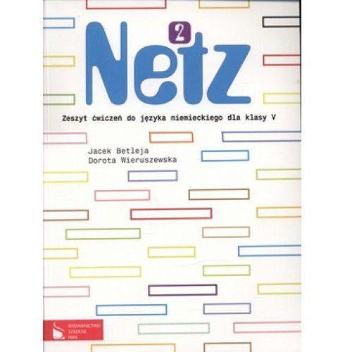 Książki do nauki języka, JĘZYK NIEMIECKI KL. 5 SP ĆWICZENIA. NETZ 2 (opr. miękka)