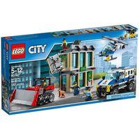 Klocki dla dzieci, LEGO City: Bulldozer Break-In (60140)