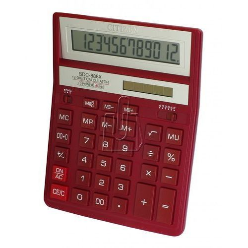 Kalkulatory, Kalkulator CITIZEN SDC-888XRD