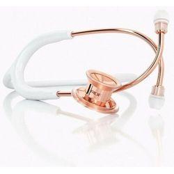 Stetoskop pediatryczny MDF MD One 777C różowe złoto - biały