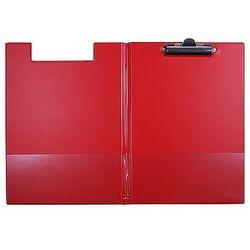 Teczka z klipem i okładką A4 czerwona Biurfol KH-04-04