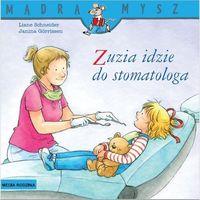"""Książki dla dzieci, Książka """"Zuzia Zuzia idzie do stomatologa"""" wydawnictwo Media Rodzina 9788380084513 (opr. miękka)"""