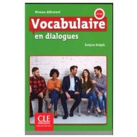 Książki do nauki języka, Vocabulaire en dialogues Niveau debutant + CD - Evelyne Sirejols (opr. miękka)