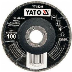 Ściernica listkowa wypukła 125mm p36 Yato YT-83291 - ZYSKAJ RABAT 30 ZŁ