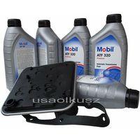 Oleje przekładniowe, Filtr oraz olej skrzyni 4SPD Mobil ATF320 Chrysler Sebring
