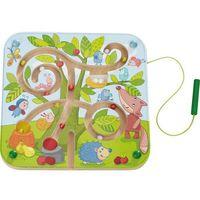 Gry dla dzieci, HABA Magnetyczna zabawka Drzewko labirynt 301057