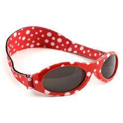 Okulary przeciwsłoneczne UV, 0-2 lat, BABY BANZ - Red Dot
