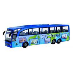 Autobus turystyczny niebieski