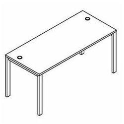 Biurko proste BSA76 wymiary: 160x70x75,8 cm