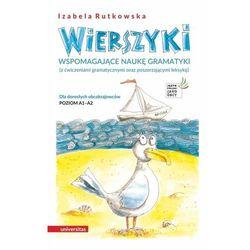 Wierszyki wspomagające naukę gramatyki - izabela rutkowska (opr. broszurowa)