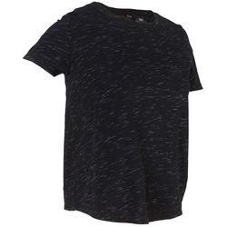 Shirt, krótki rękaw (2 części) bonprix czarny